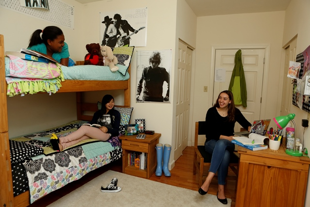 dorm life Dorm life living on campus in one of our dorms connects you to the vibrant life of pbc it is a vital part of a rich, well-rounded experience the close-knit, supportive dorms offer students a place to live and work that distinctly enhances their college experience by putting them at the center of everything: classes, the library, recreational facilities, ministry experiences, volunteer.