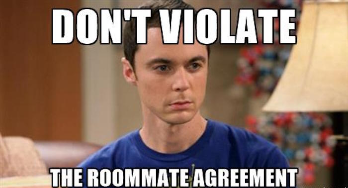 dr-sheldon-cooper-wrong-dont-violate-the-roommate-agreement
